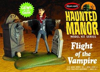 Haunted Manor: Flight of the Vampire (Model Kit)