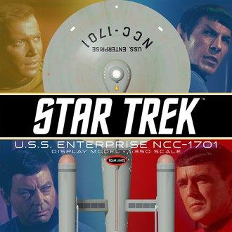 Star Trek TOS U.S.S. Enterprise (Prebuilt Display Model)