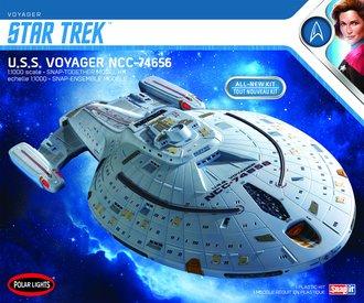 Star Trek U.S.S. Voyager (Snap 2T Model Kit)