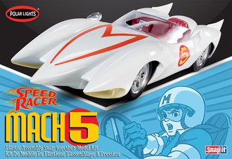 Speed Racer Mach V (Snap) (Model Kit)