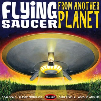 """12"""" Flying Saucer (Model Kit)"""