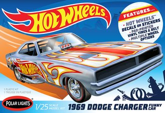 "1969 Dodge Charger Funny Car ""Hot Wheels"" (Model Kit)"