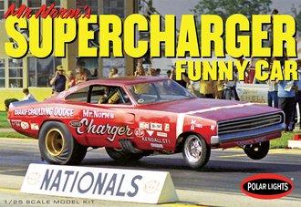 """1969 Dodge Charger Funny Car """"Mr. Norm"""" (Model Kit)"""