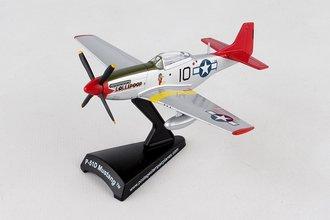 "1:100 P-51D Mustang ""USAAF 332nd FG, 100th FS Tuskegee Airmen, #44-15648 'Lolipoop II', S.Ellington,"