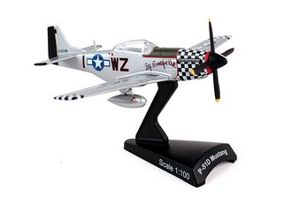"1:100 P-51D Mustang ""USAAF 78th FG, #44-72218 ""Big Beautiful Doll"", J.Landers, RAF, England, 1945"""