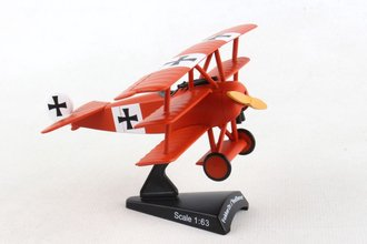 "1:63 Fokker DR-1 Tri-Wing ""Luftstreitkrafte JG 1, The Red Baron"""