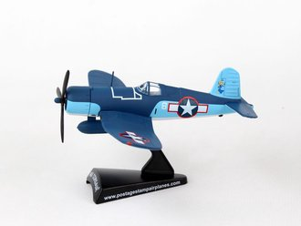 "1:100 F4U Corsair ""USMC VMF-422, 'White 8', Robert Stout, Engibi Island, May 1944"""