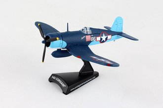 "1:100 F4U Corsair, Gregory ""Pappy"" Boyington #86 VMG-214 ""Black Sheep"""