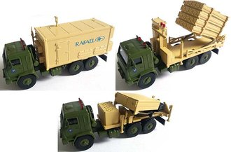 Iron Dome 3-Vehicle Set, Israel Defense Forces, 2015