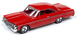 1:64 1964 Chevy Impala Hardtop (Riverside Red)