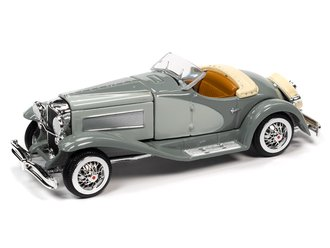 1:64 1935 Duesenberg SSJ (Light Gray/Dark Gray)