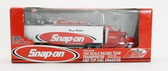 "1:64 Snap-On Racing Team Transporter w/Top Fuel Dragster ""Doug Herbert"""