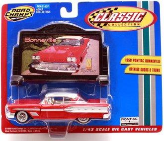 1958 Pontiac Bonneville Hardtop (Red/White)