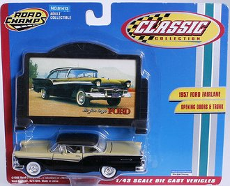 1957 Ford Fairlane (Yellow/Black)