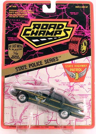 """1994 Chevy Caprice Police """"Ohio State Highway Patrol"""" (Blank Plate)"""