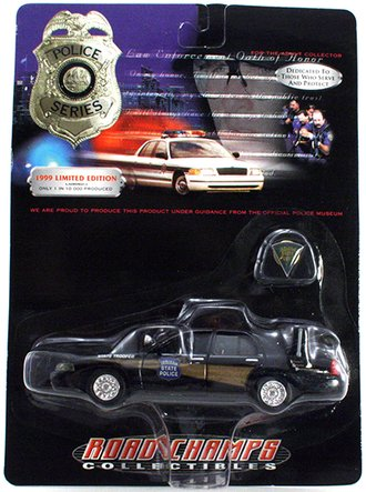 "1999 Ford Crown Victoria ""Indiana"" w/Collector Pin"