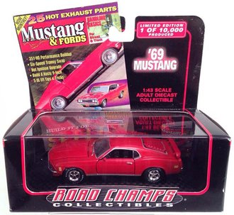 1969 Ford Mustang Fastback (Red)