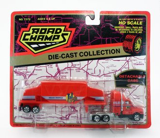 """Kenworth T600A w/Grain Supply """"TJ"""" (Red)"""
