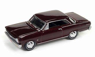 1:64 1966 Chevy Nova SS (Madeira Maroon)
