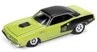 1:64 1971 Plymouth Barracuda (Curious Yellow)