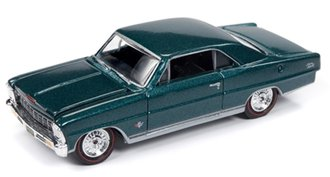 1:64 1966 Chevy Nova SS (Tropic Turquoise)