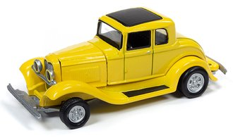 1:64 1932 Ford Coupe (Yellow)