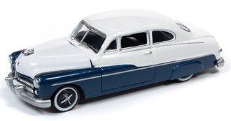 1:64 1949 Mercury Sedan (Biscay Blue/White)