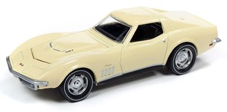 1:64 1969 Chevrolet Corvette (Butternut Yellow)