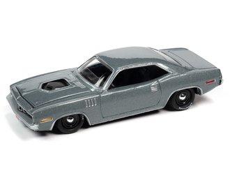 1:64 1971 Plymouth Hemi Cuda(Winchester Gray Metallic)