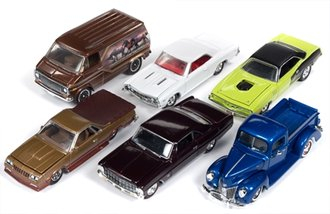 Racing Champions 1:64 Mint Series, Release 9A (Set of 6)