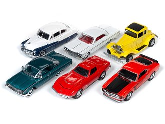 Racing Champions 1:64 Mint Series, 2019 Release 1A (Set of 6)