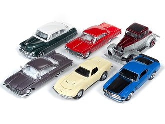 Racing Champions 1:64 Mint Series, 2019 Release 1B (Set of 6)