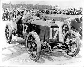 1916 Peugeot, Winner Indianapolis 500, Dario Resta