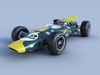 1965 Lotus 38, Winner Indianapolis 500, Jim Clark