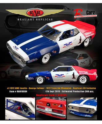 "1972 AMC Javelin, Trans Am ""George Follmer"""