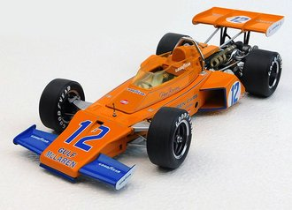 1972 McLaren, Indy 500, Peter Revson