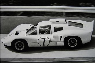 1966 Chaparral 2D, Nurburgring Winner, Jo Bonnier / Phil Hill