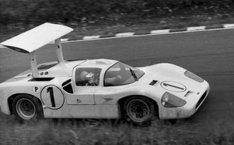 1967 Chaparral 2F, BOAC Winner, Phil Hill / Mike Spence
