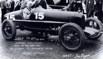 Duesenberg, Winner 1924 Indianapolis 500, L.Corum/J.Boyer