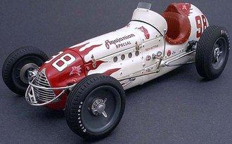Agajanian, Winner 1952 Indianapolis 500, T. Ruteman