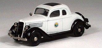 "1935 Ford Police ""Montana"""