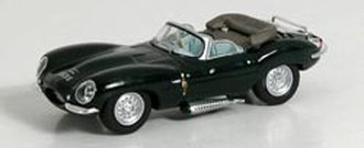 1:87 Jaguar XKSS w/Top Down (Green)