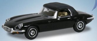 1974 Jaguar E-Type V12 w/Top Up (Black)
