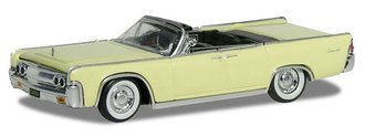 1963 Lincoln Continental Convertible (Yellow)