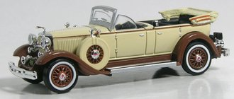 1931 Lincoln Model K w/Top Down (Beige/Brown)