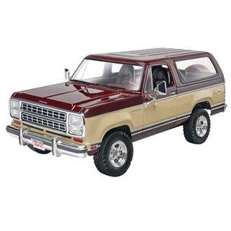 1:25 1980 Dodge Ramcharger (Model Kit)