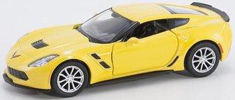1:38 Corvette C7 Grand Sport Hardtop (Yellow)