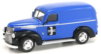 "1:43 1946 Chevy Panel Van ""Boston & Maine Railroad"" (Blue/Black)"