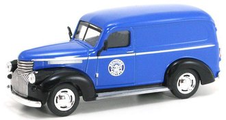 "1:43 1946 Chevy Panel Van ""Southern Pacific Railroad"" (Blue/Black)"