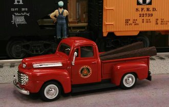"1948 Ford F1 Pickup ""Chicago & Alton Railroad"" (Red)"